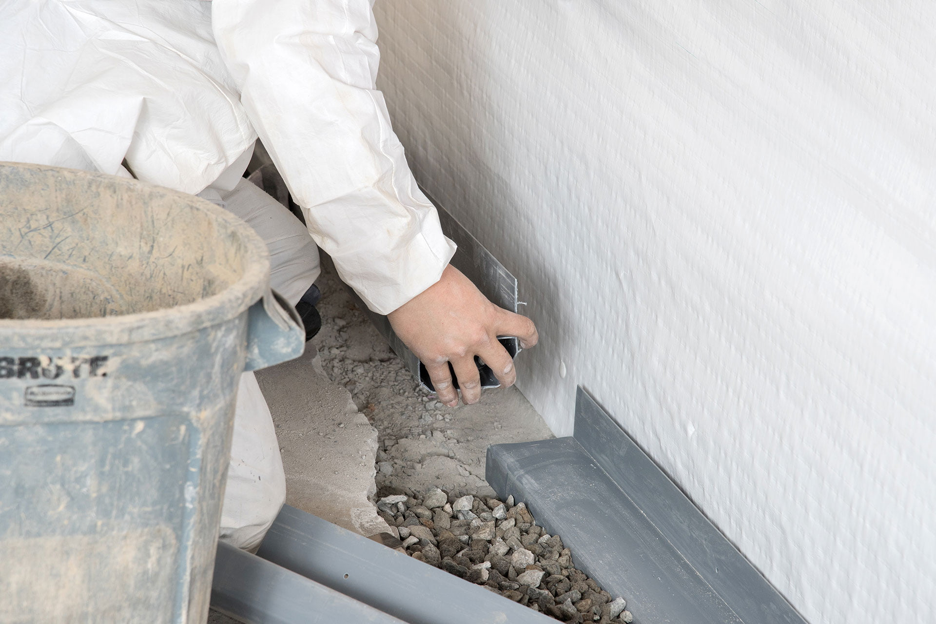 French Drain for Waterproofing