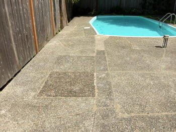 Pool deck repaired by Vest Foundation Solutions