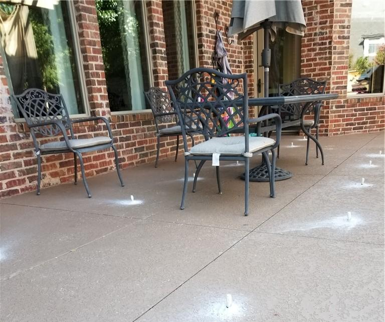 This Pool Deck Patio was easily lifted and protected using Polylevel injection system.
