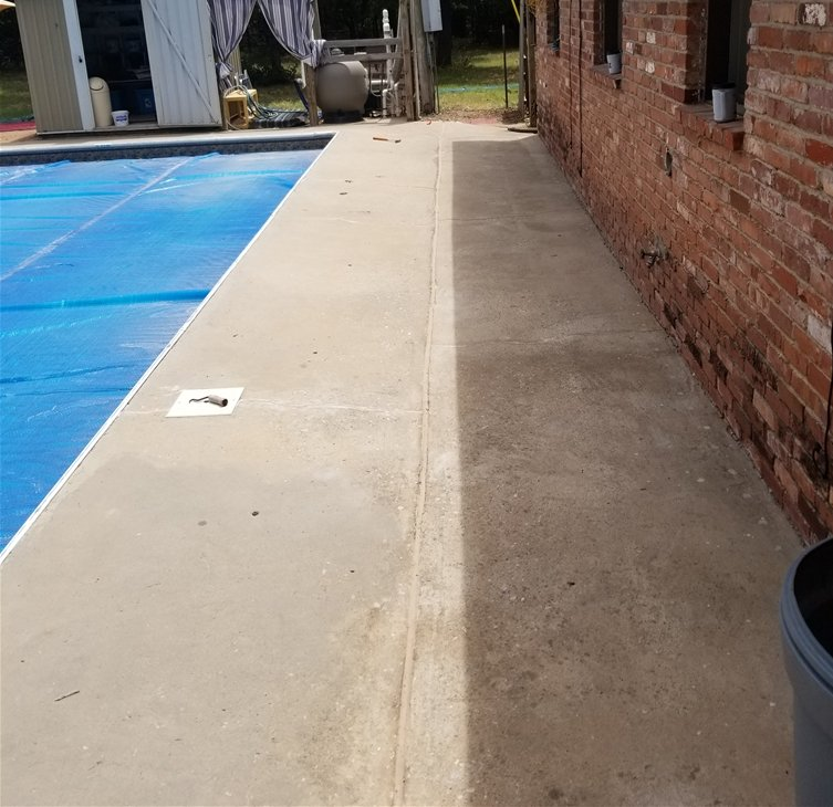 The joints after the crew were complete with repair in Choctaw, OK