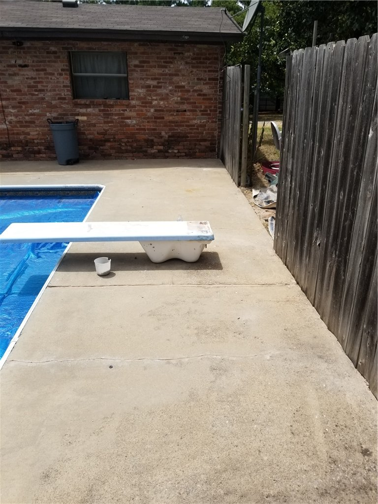 Even with Diving boards, a slab can easily be lifted without the removal of the board.