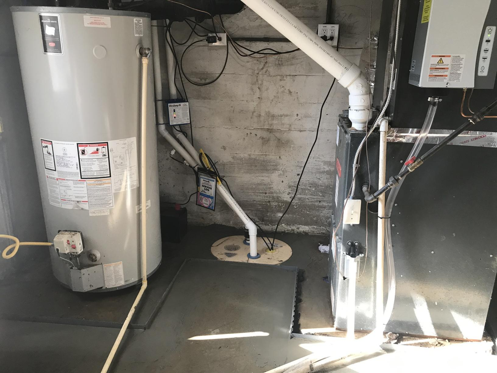 A triple Safe Sump system protects the customer from any point of failure that can occur. It even protects them during power outages.