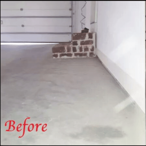 PolyLevel Concrete Lifting Used in Oklahoma City - Before Photo