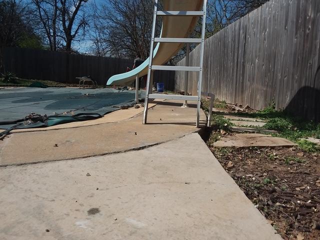 Edmond, OK Pool Deck Repair - After Photo