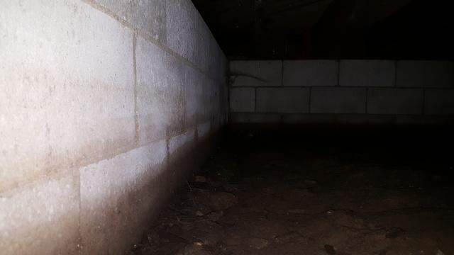 Norman Home Gets a Musty Free Crawl Space - Before Photo