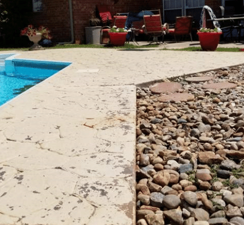 Pool Deck Repair Newcastle, OK - After Photo