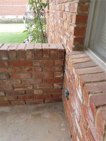 Porch Lifting in Midwest City, OK - After Photo