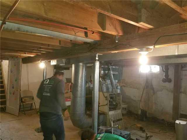 Basement Repair in Hennessey, OK - After Photo