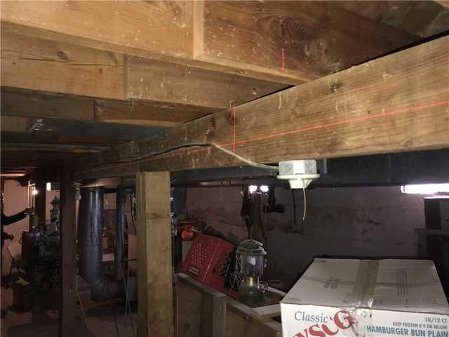 Basement Repair in Hennessey, OK - Before Photo