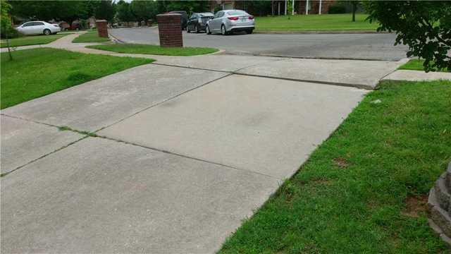 Driveway Fix and Protect - Norman, OK - Before Photo