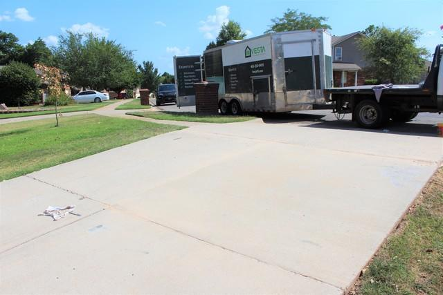Driveway Fix and Protect - Norman, OK - After Photo