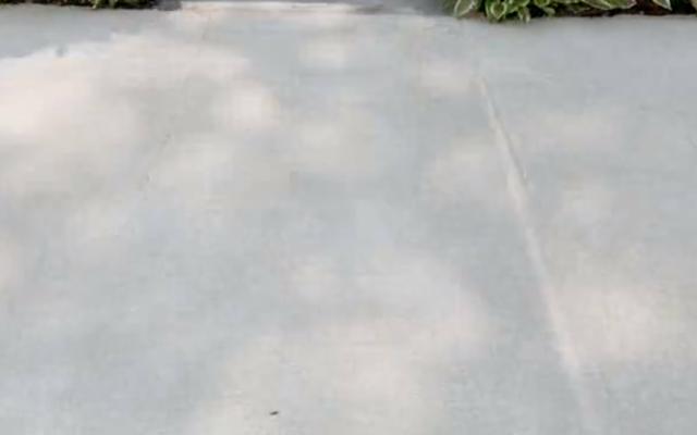 Concrete surface after