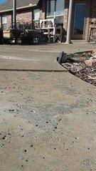 Before Image of Concrete Pool Deck Repair