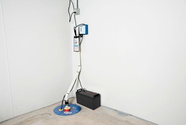 Sump Pump Battery Backup